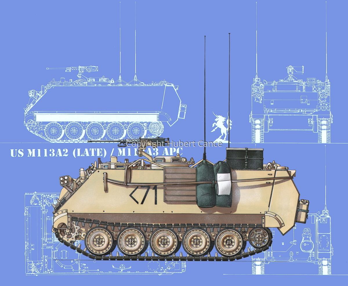 M113A3 (Blueprint #2) (large view)