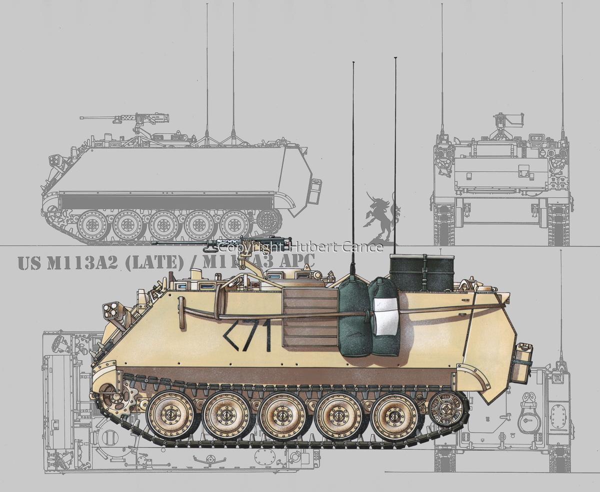 M113A3 (Blueprint #3) (large view)