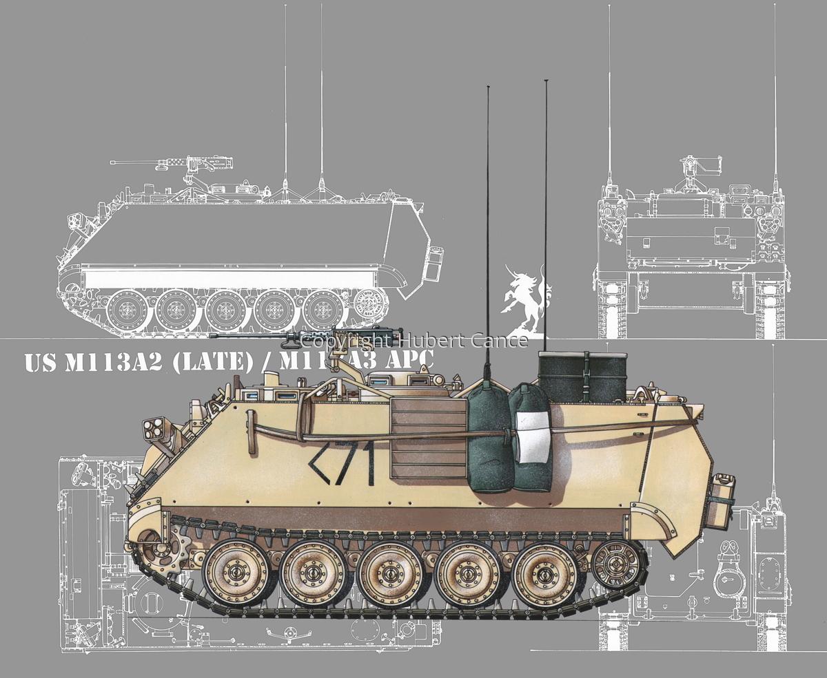 M113A3 (Blueprint #4) (large view)