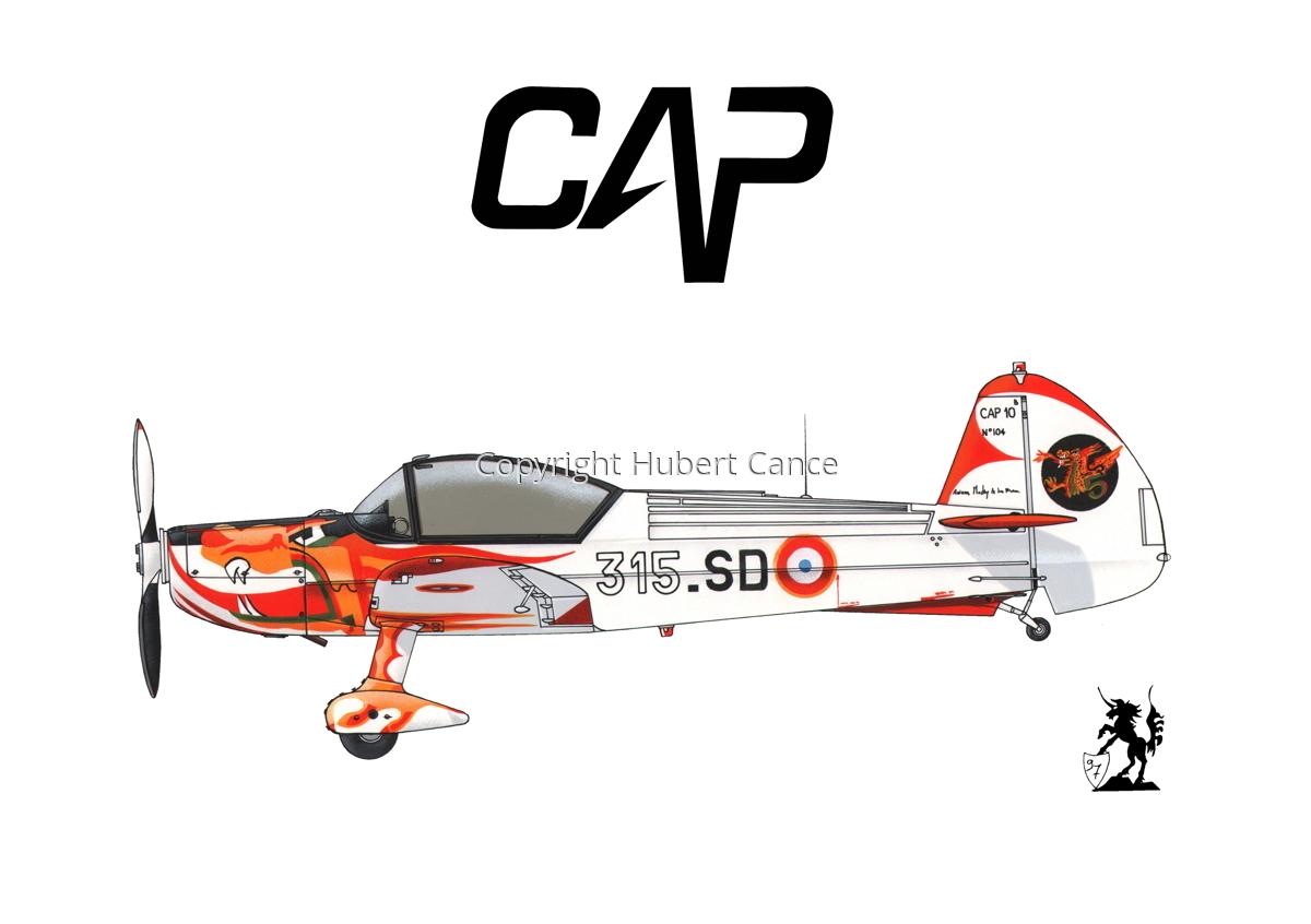 Mudry CAP-10B (Logo #1.1) (large view)