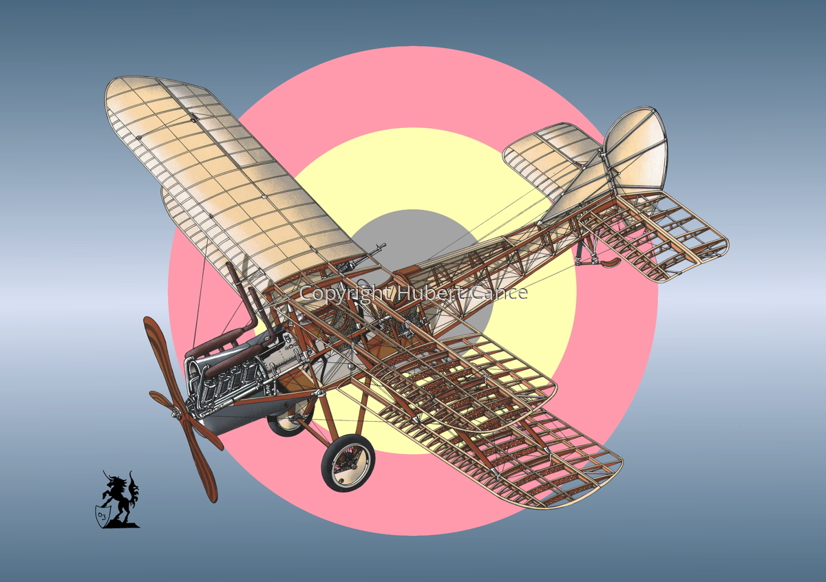 RAF Be.2c (Roundel #5) (large view)