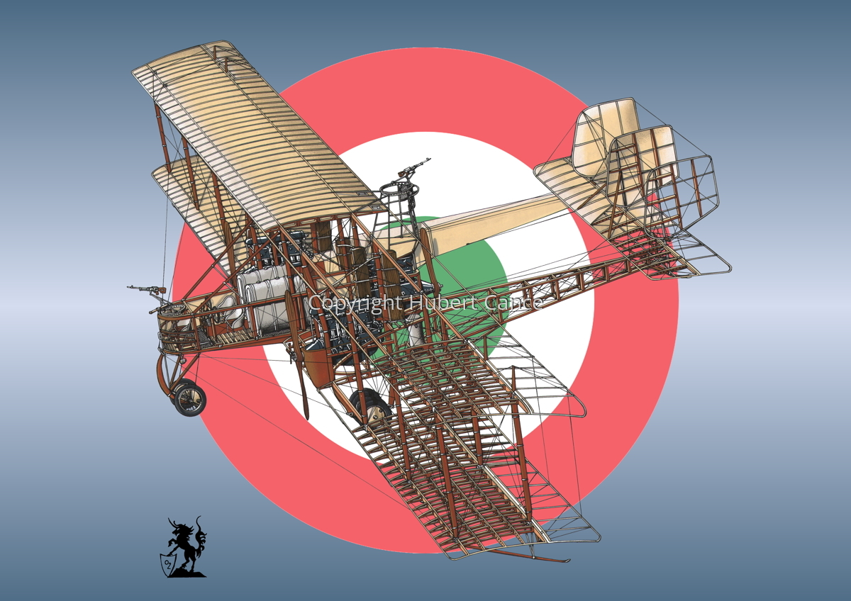 Caproni Ca.3 (Roundel #7) (large view)