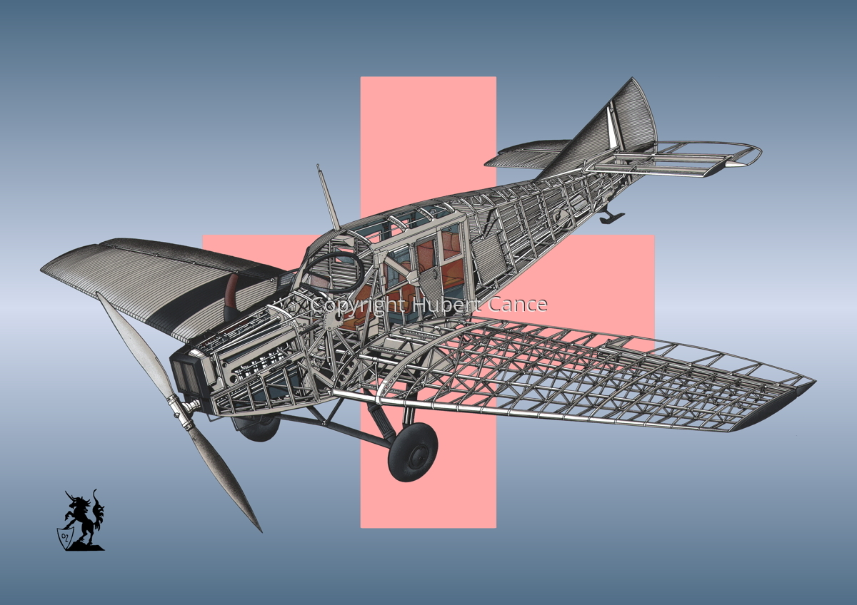 Junkers F.13 (Roundel #3) (large view)