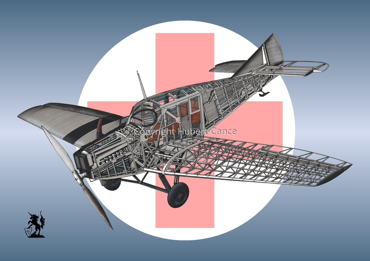 Junkers F.13 (Roundel #4) (large view)