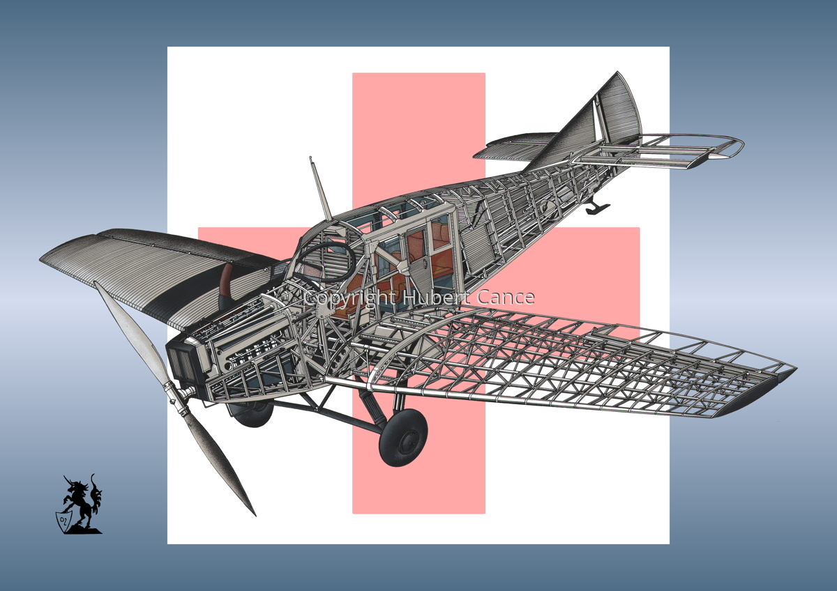 Junkers F.13 (Roundel #5) (large view)