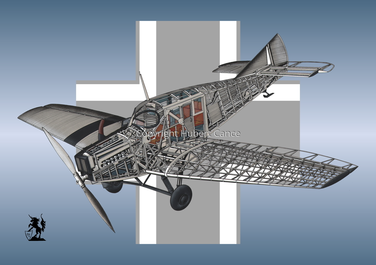 Junkers F.13 (Roundel #6) (large view)
