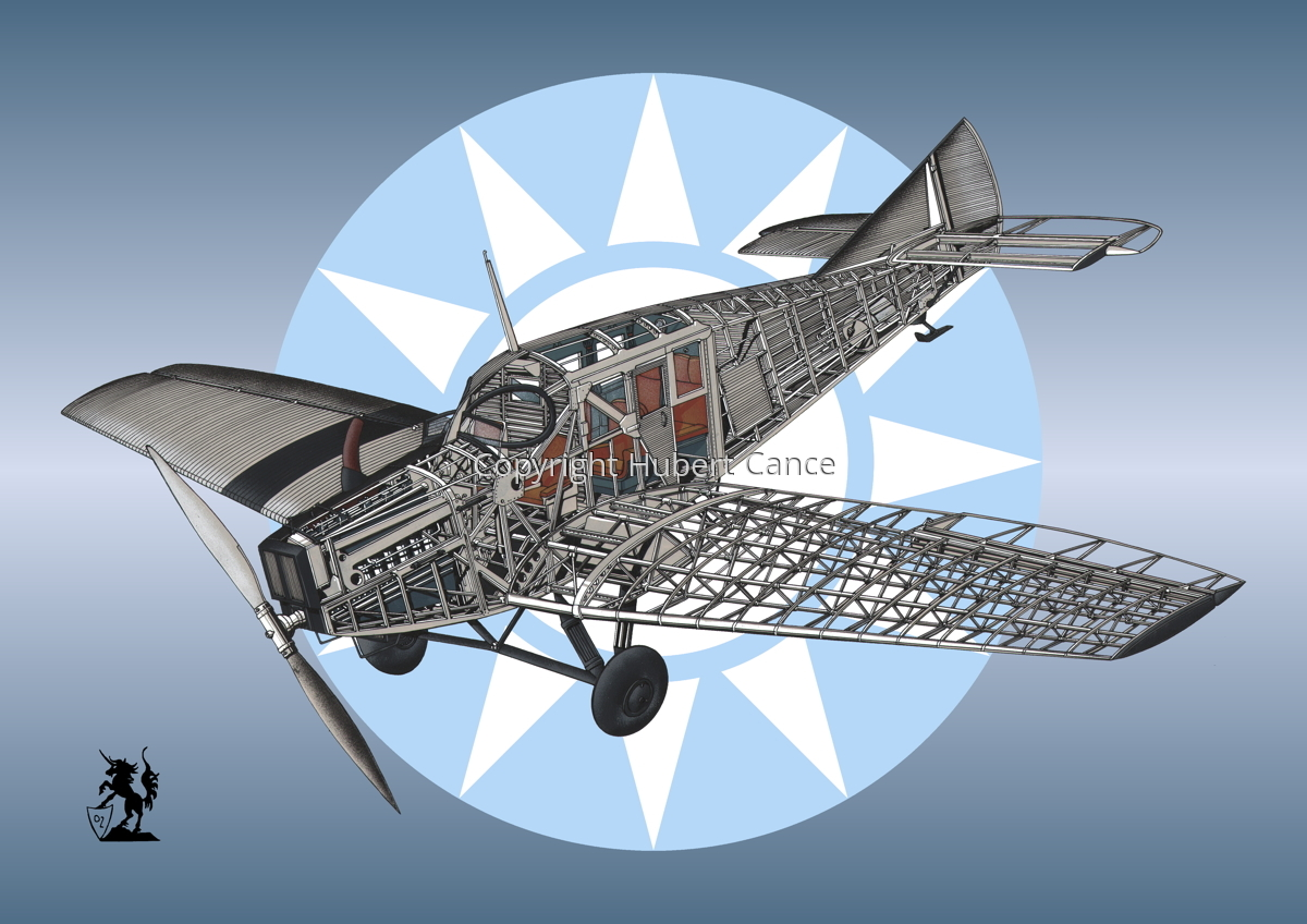 Junkers F.13 (Roundel #16) (large view)