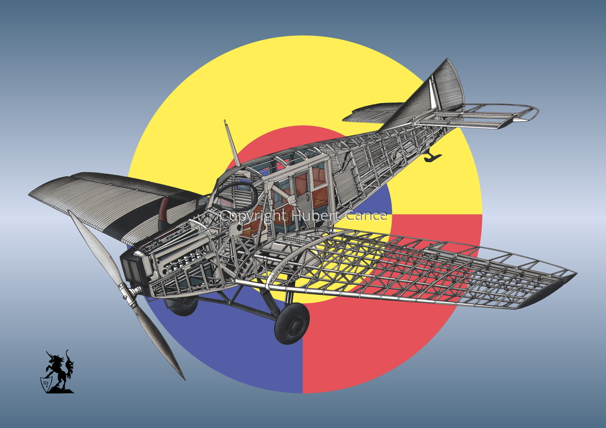 Junkers F.13 (Roundel #20) (large view)