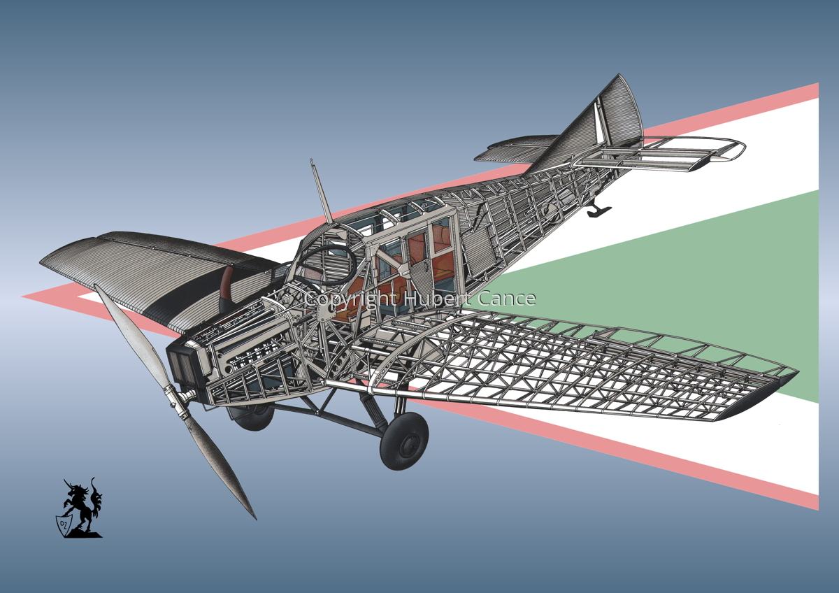 Junkers F.13 (Roundel #24) (large view)