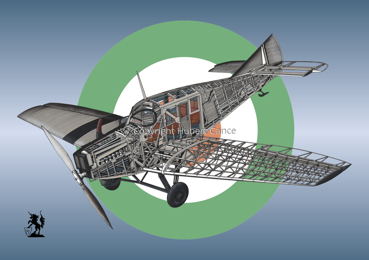Junkers F.13 (Roundel #25) (large view)
