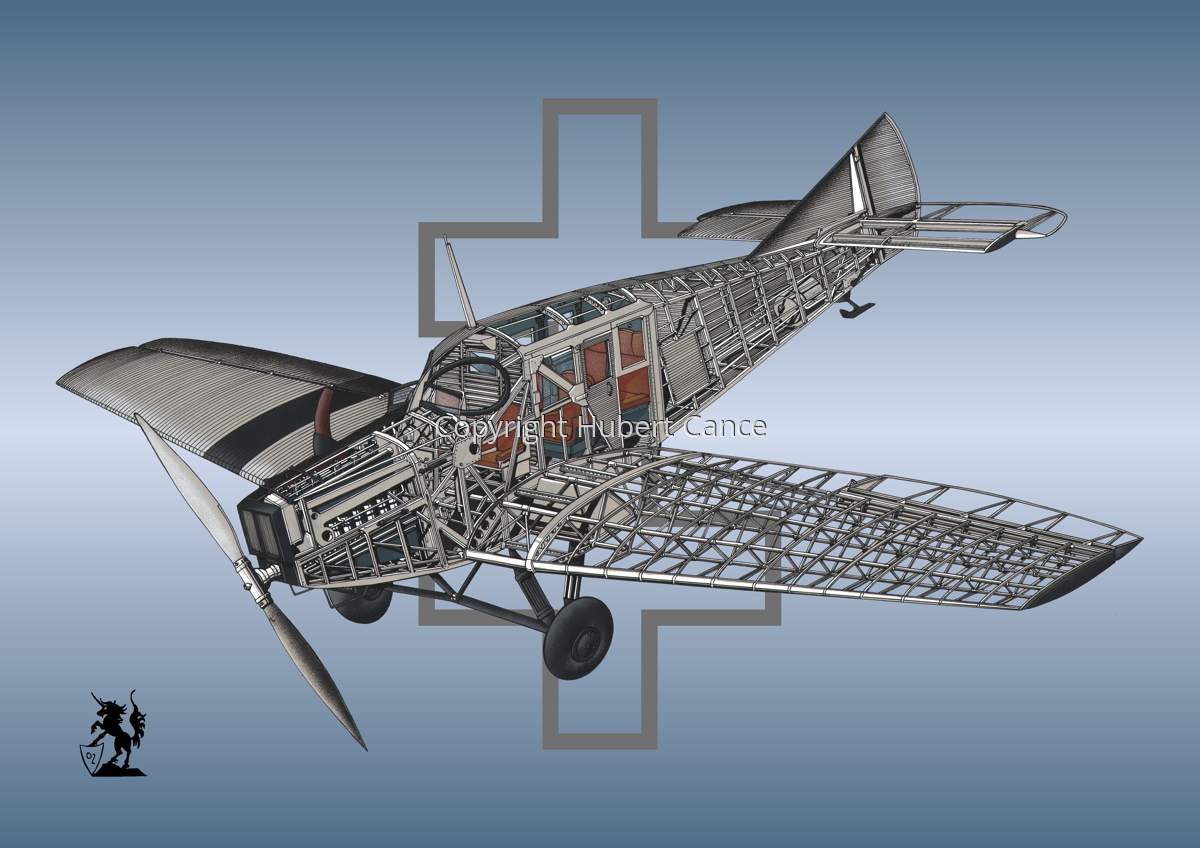 Junkers F.13 (Roundel #26) (large view)