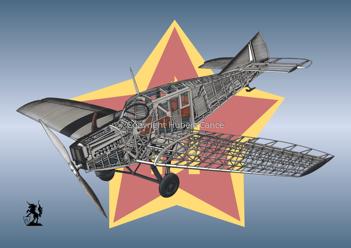 Junkers F.13 (Roundel #27) (large view)