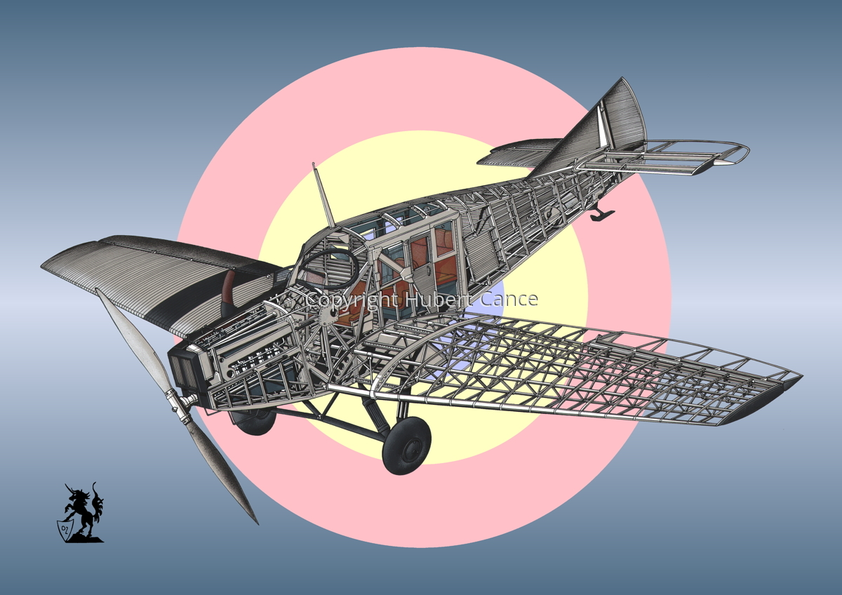 Junkers F.13 (Roundel #28) (large view)
