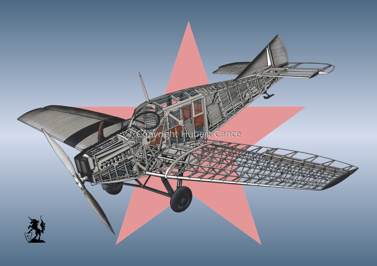 Junkers F.13 (Roundel #30) (large view)