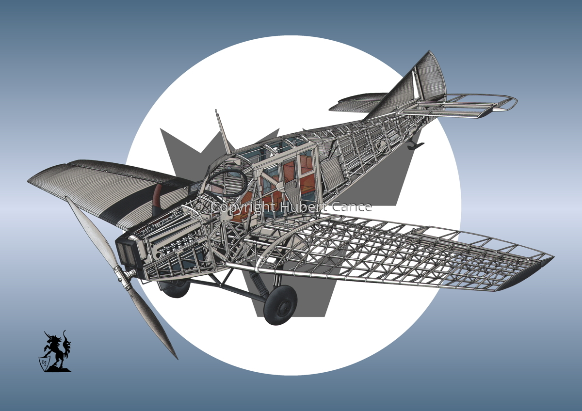 Junkers F.13 (Roundel #33) (large view)