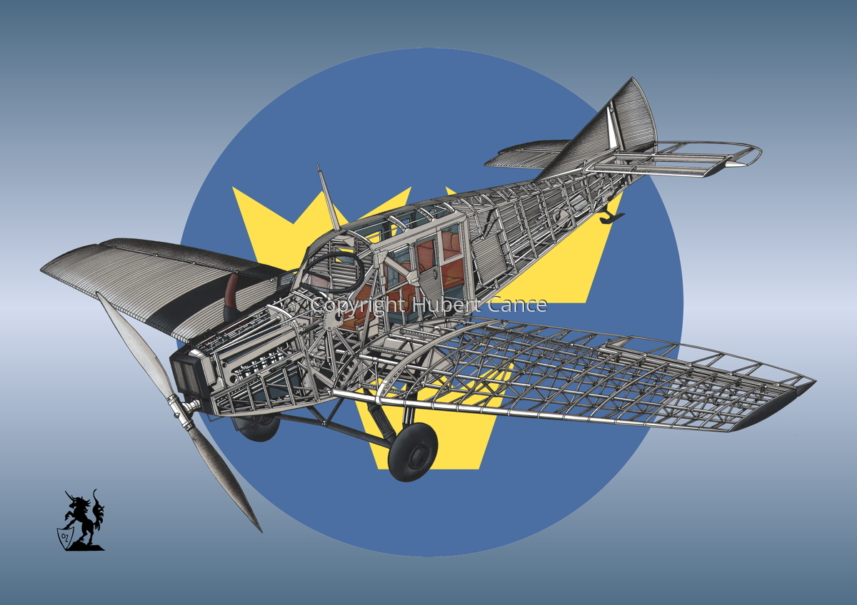 Junkers F.13 (Roundel #34) (large view)