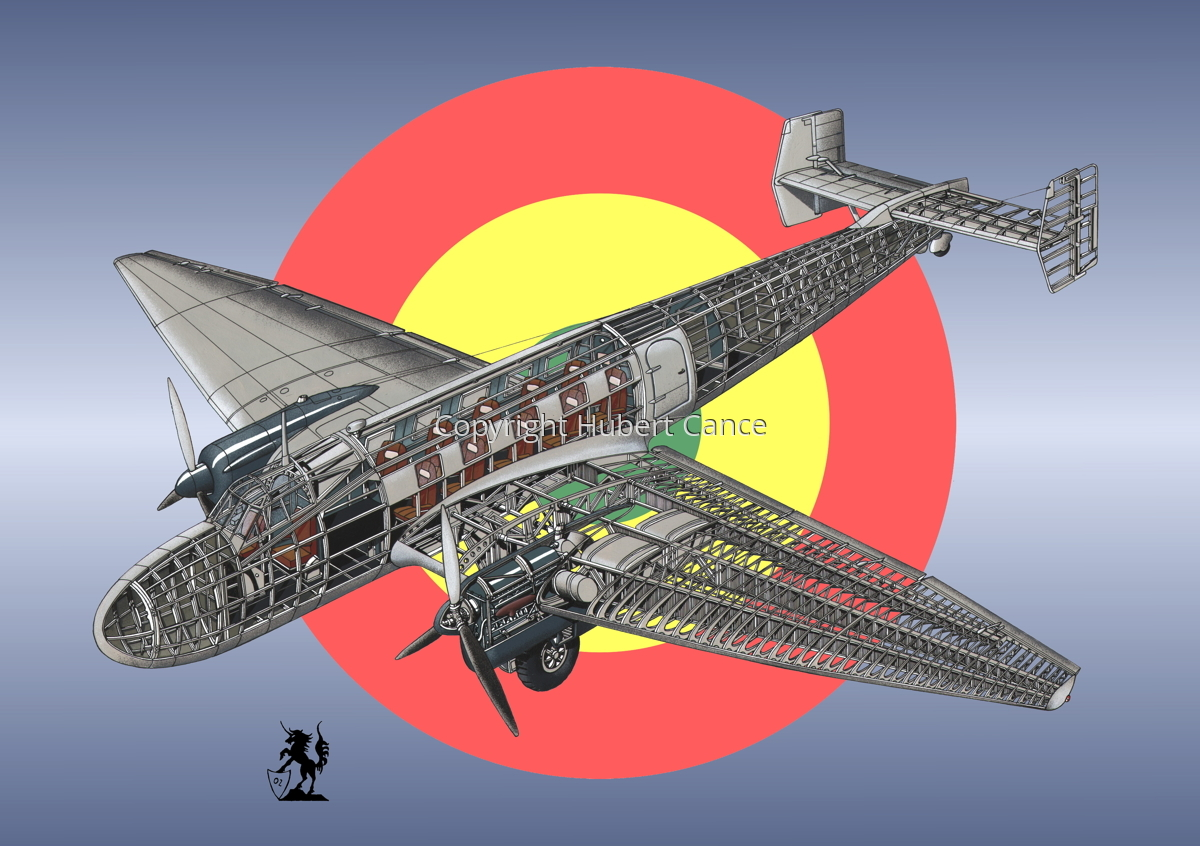 Junkers Ju 86 C1 (Roundel #4) (large view)