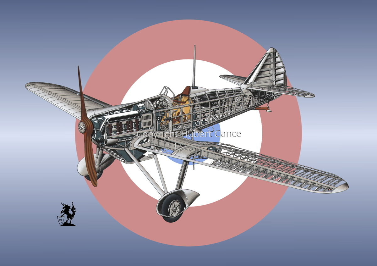 Dewoitine D.501 (Roundel #4) (large view)