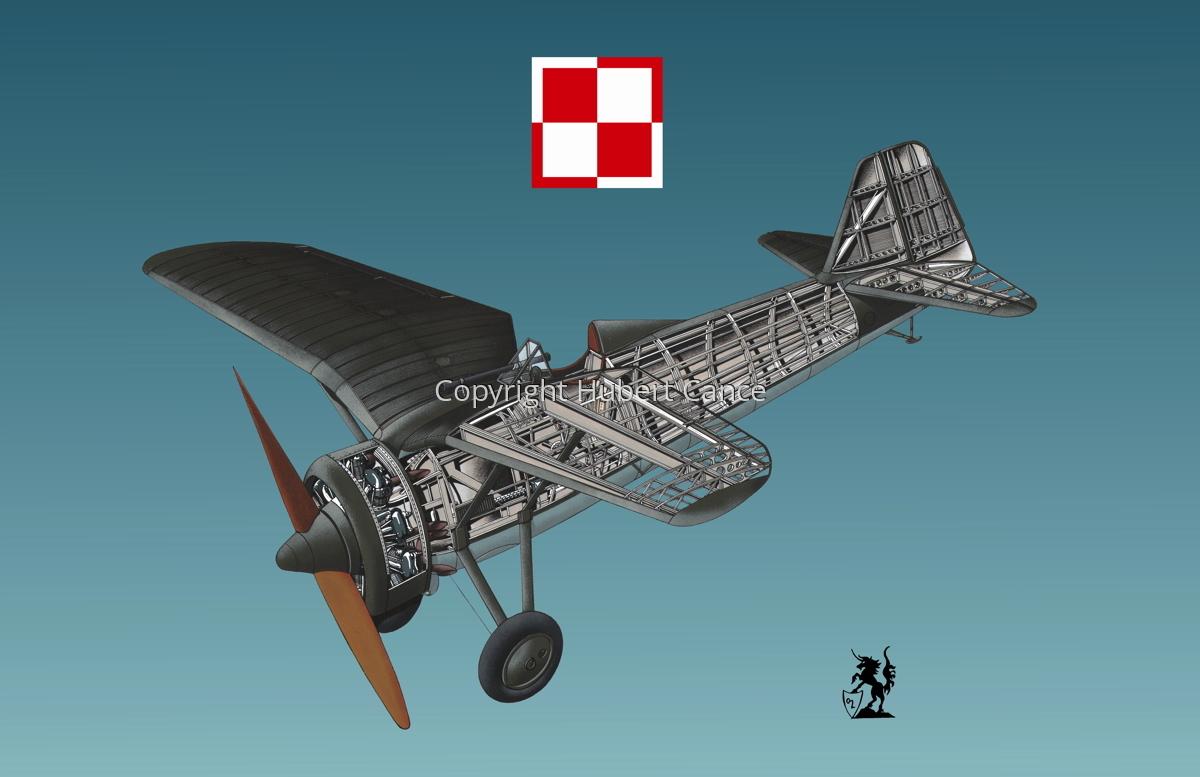 PZL P.7a  (Roundel #2.3) (large view)
