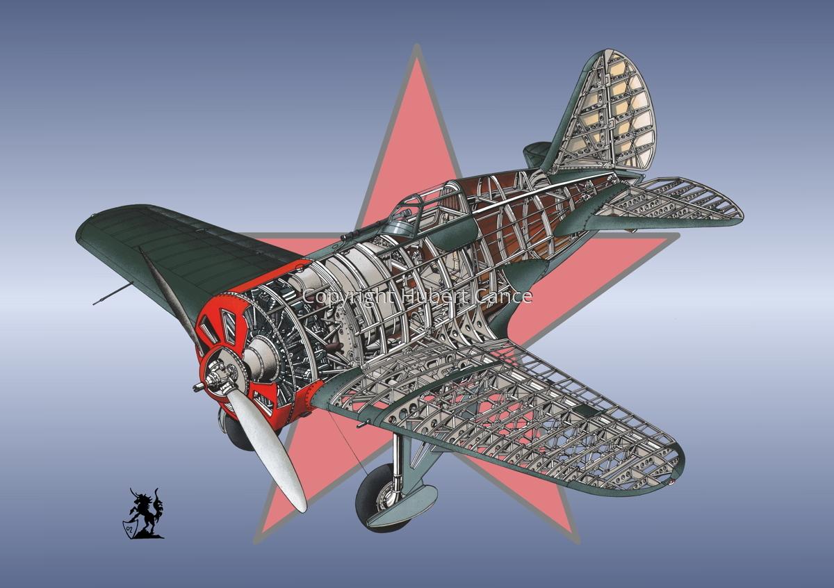 Polikarpov I.16 Type 5 (Roundel #12) (large view)