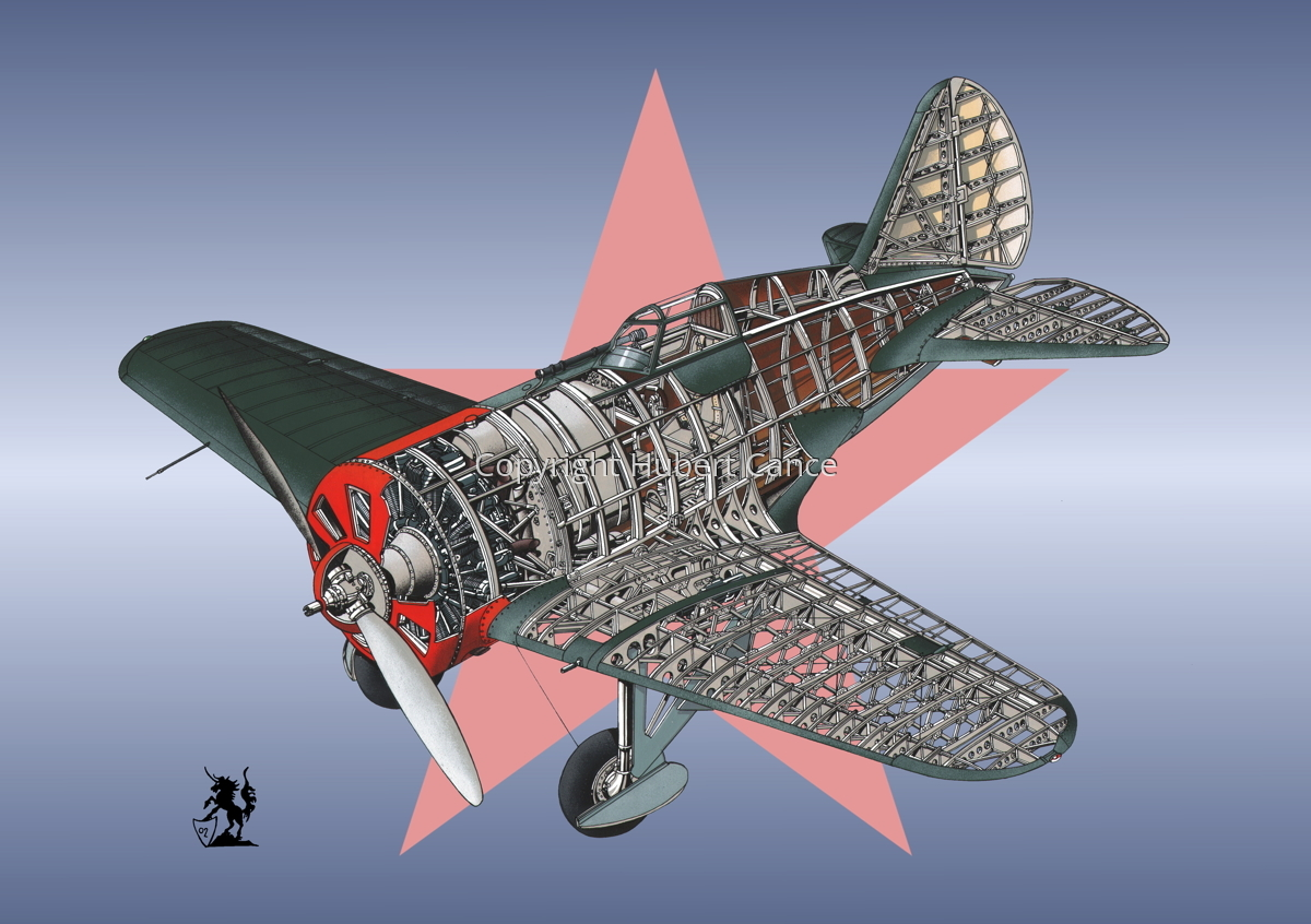 Polikarpov I.16 Type 5 (Roundel #14) (large view)