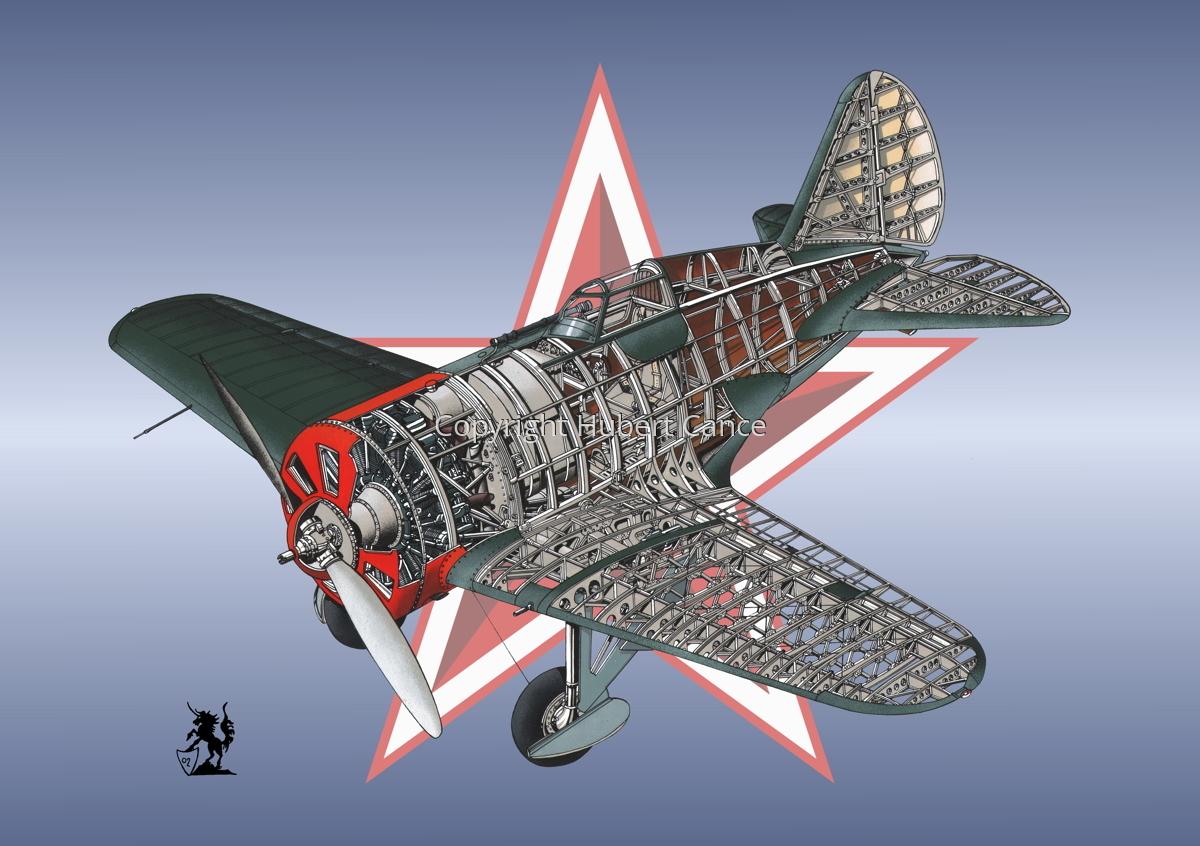 Polikarpov I.16 Type 5 (Roundel #13) (large view)