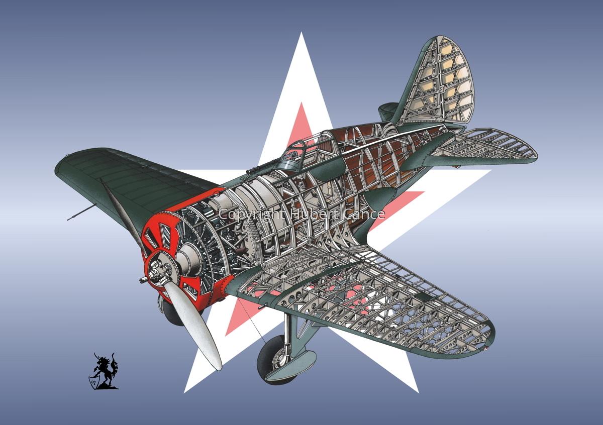 Polikarpov I.16 Type 5 (Roundel #16) (large view)