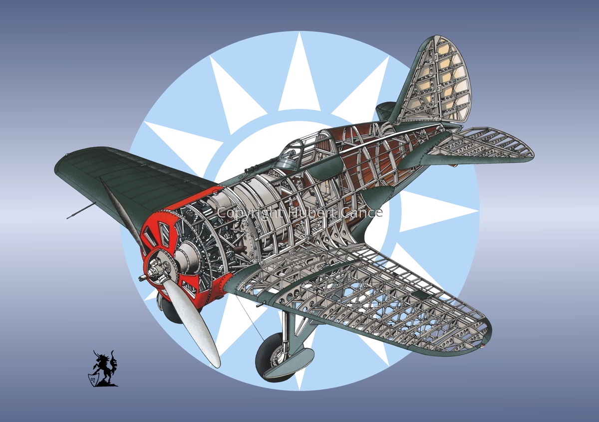 Polikarpov I.16 Type 5 (Roundel #17) (large view)