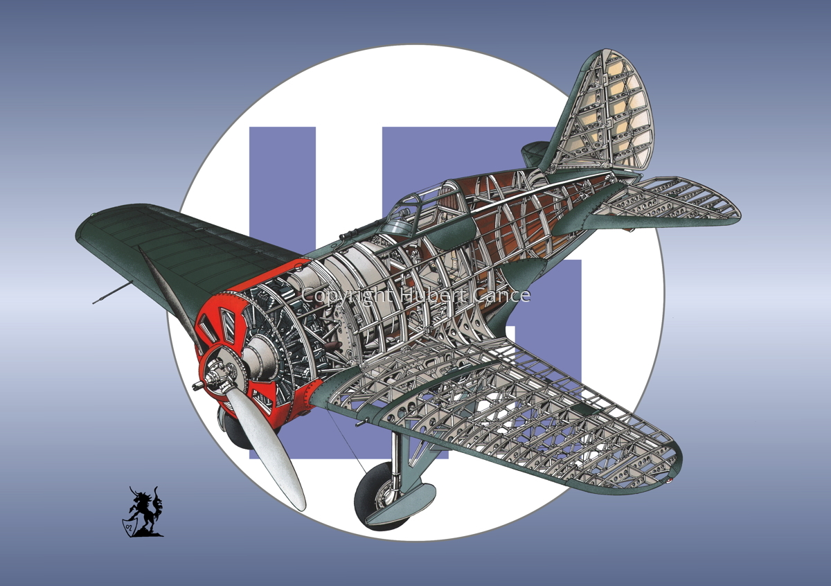 Polikarpov I.16 Type 5 (Roundel #18) (large view)