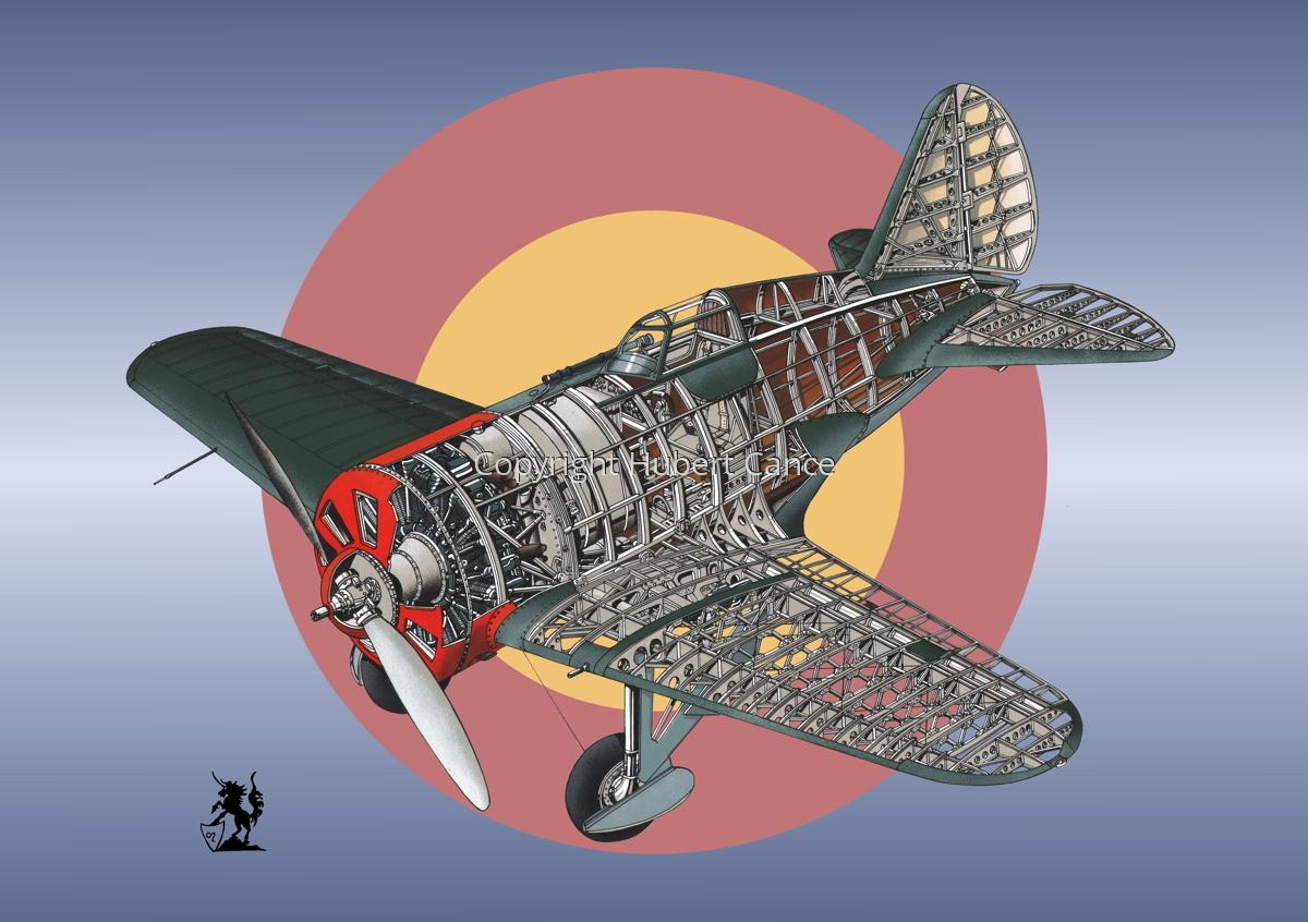 Polikarpov I.16 Type 5 (Roundel #20) (large view)