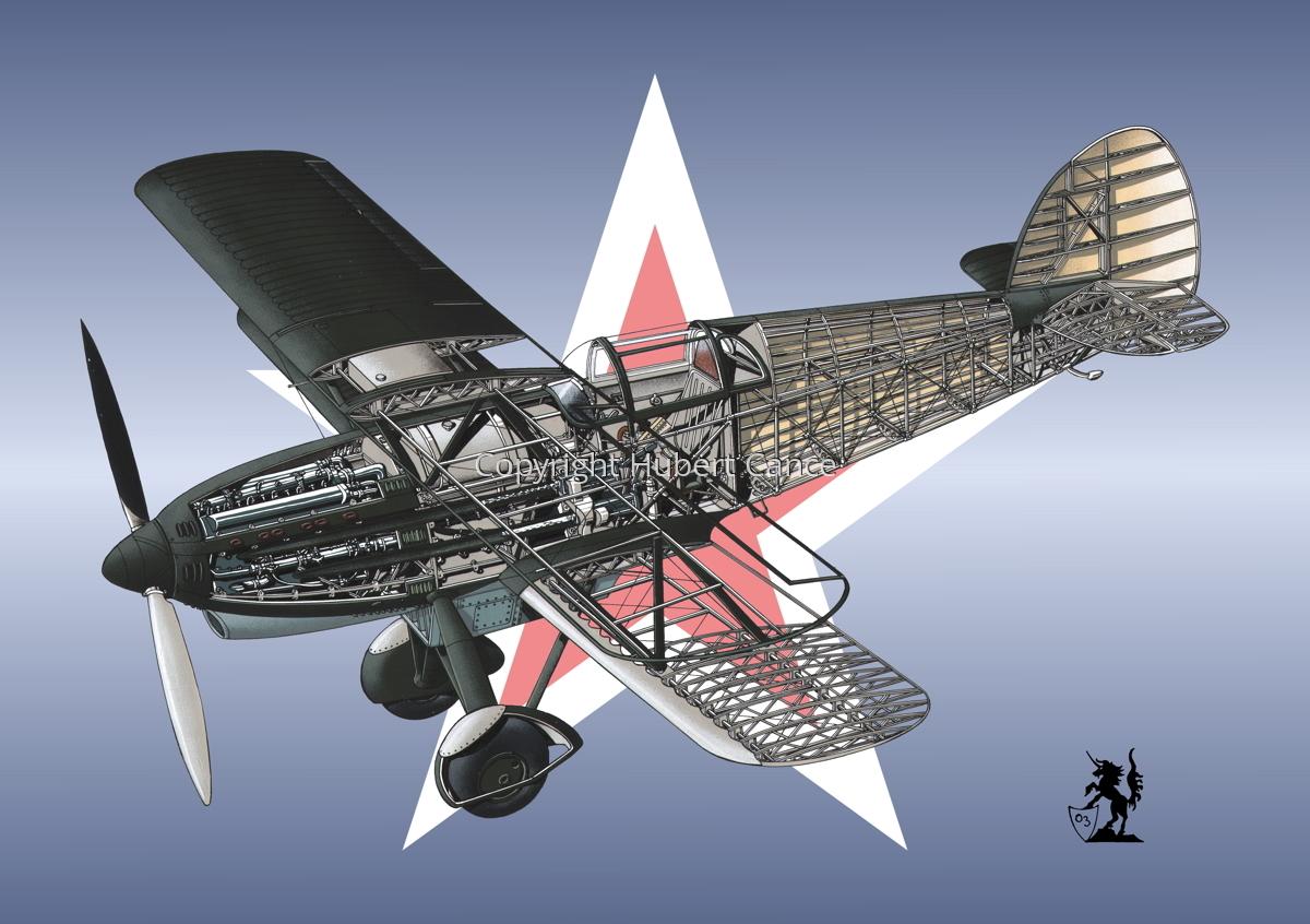 Avia B-534N (Roundel #16) (large view)
