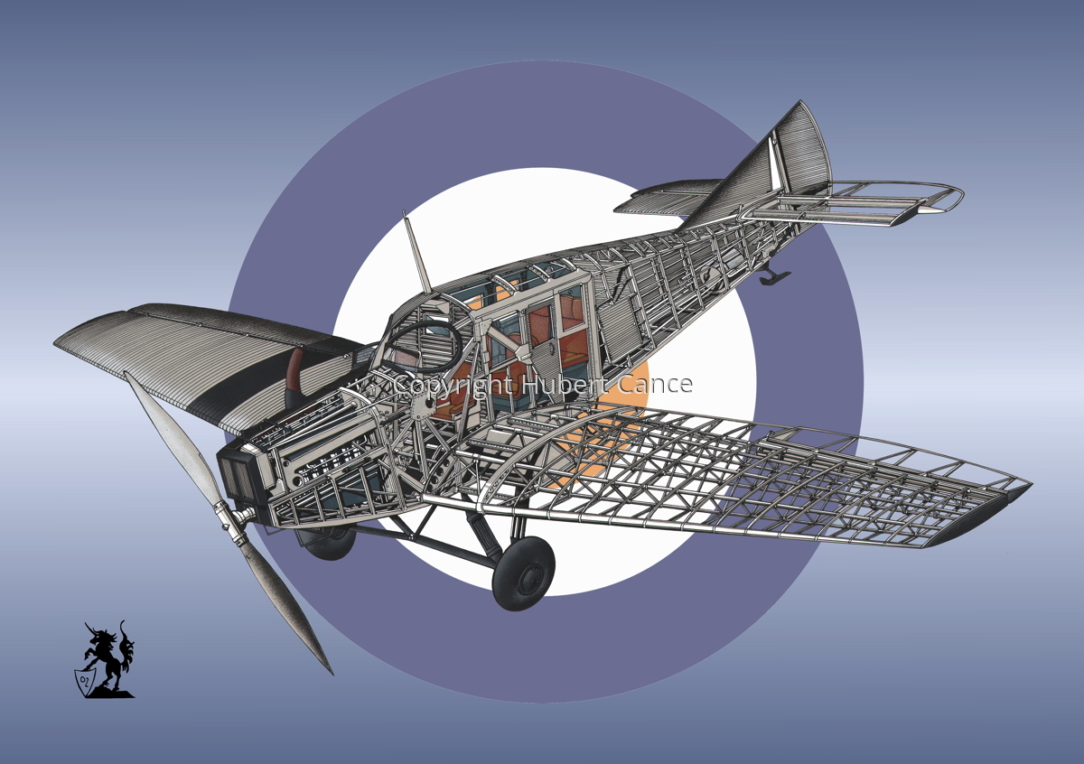 Junkers F.13 (Roundel #44) (large view)