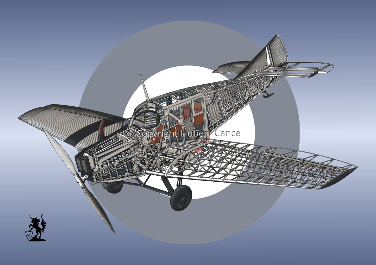 Junkers F.13 (Roundel #45) (large view)