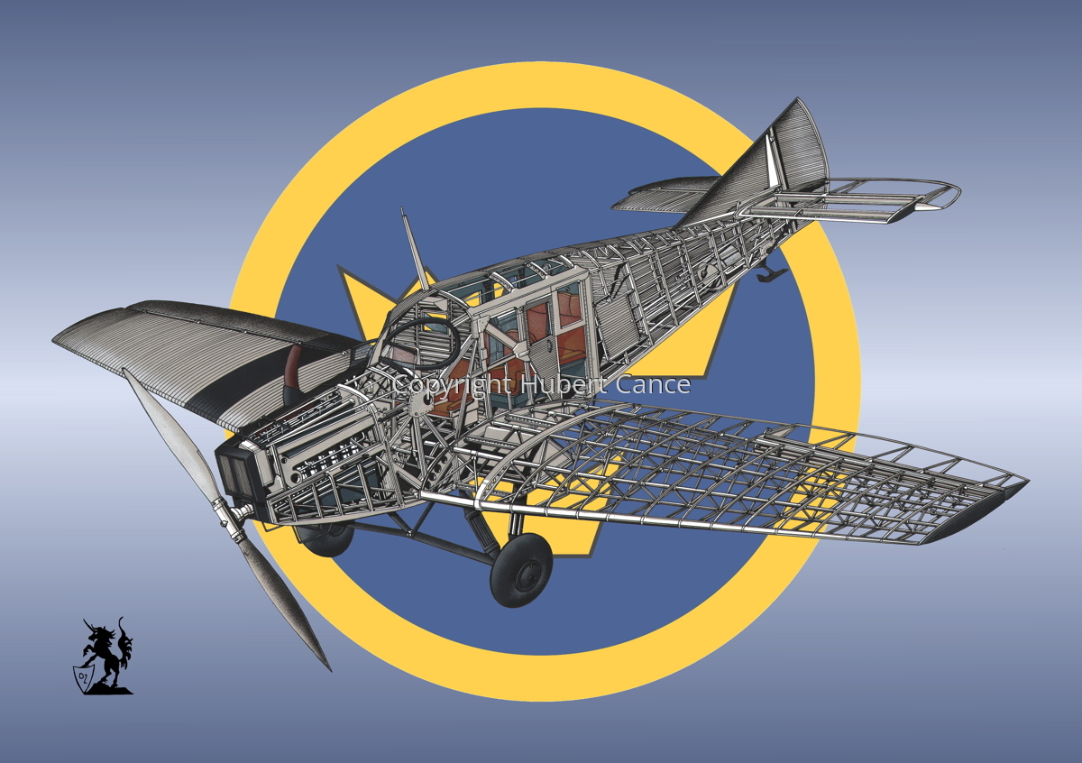 Junkers F.13 (Roundel #48) (large view)