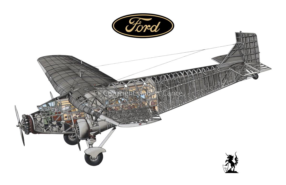 "Ford 5-AT-B ""Trimotor"" (Logo #1/1) (large view)"