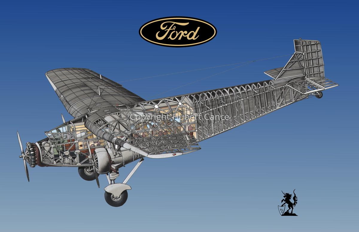 "Ford 5-AT-B ""Trimotor"" (Logo #1.3) (large view)"