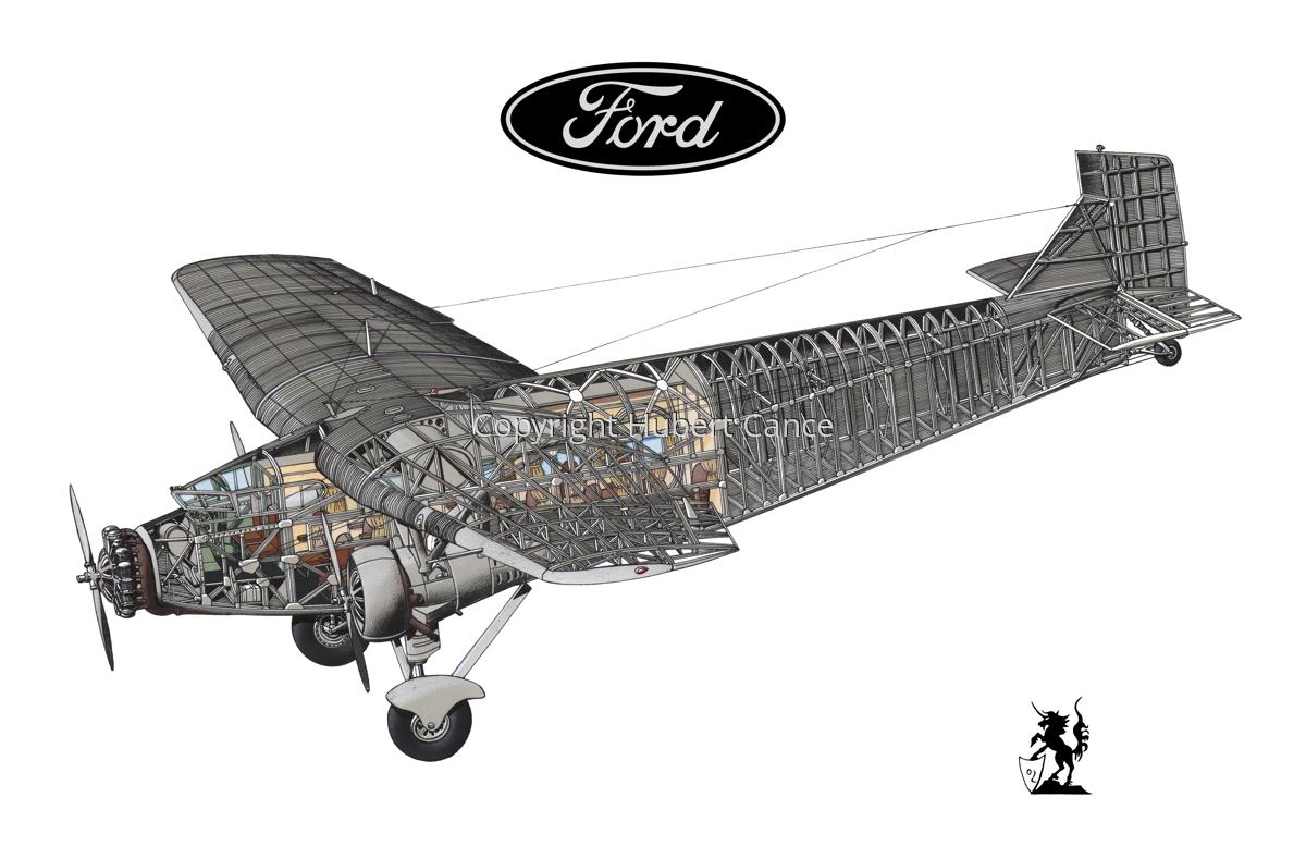 "Ford 5-AT-B ""Trimotor"" (Logo #2.1) (large view)"