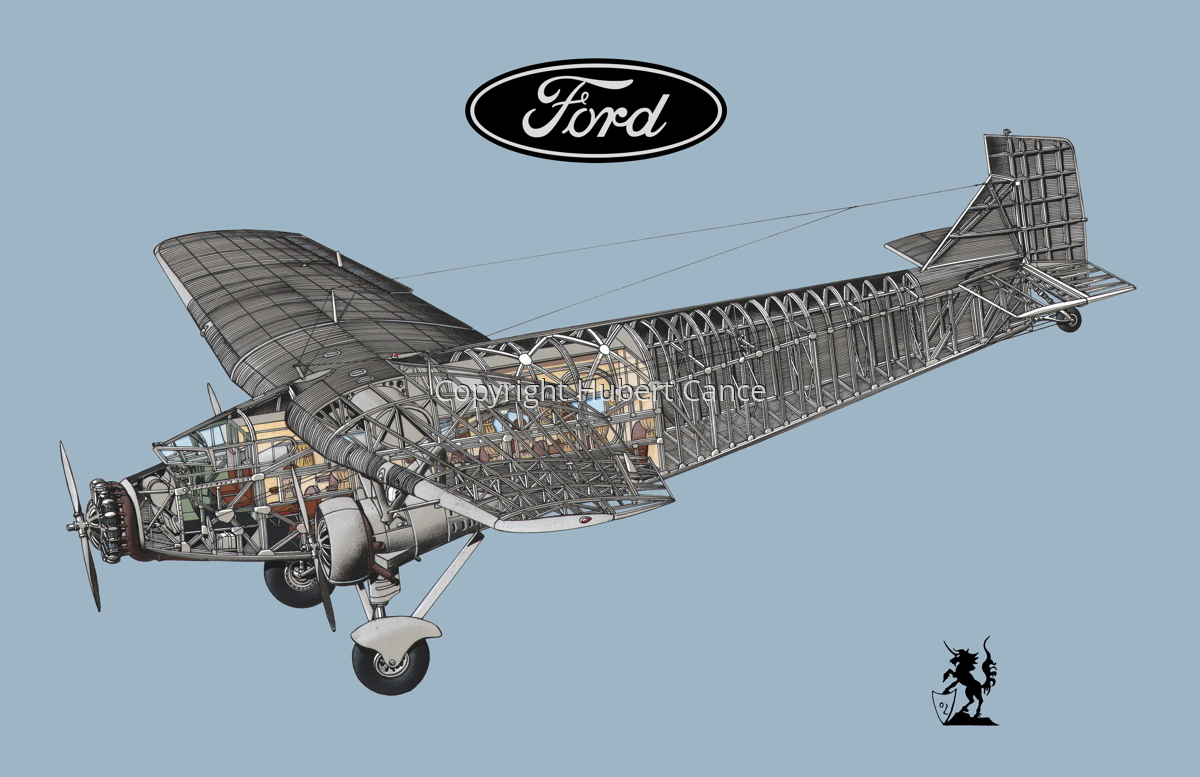 "Ford 5-AT-B ""Trimotor"" (Logo #2.2) (large view)"