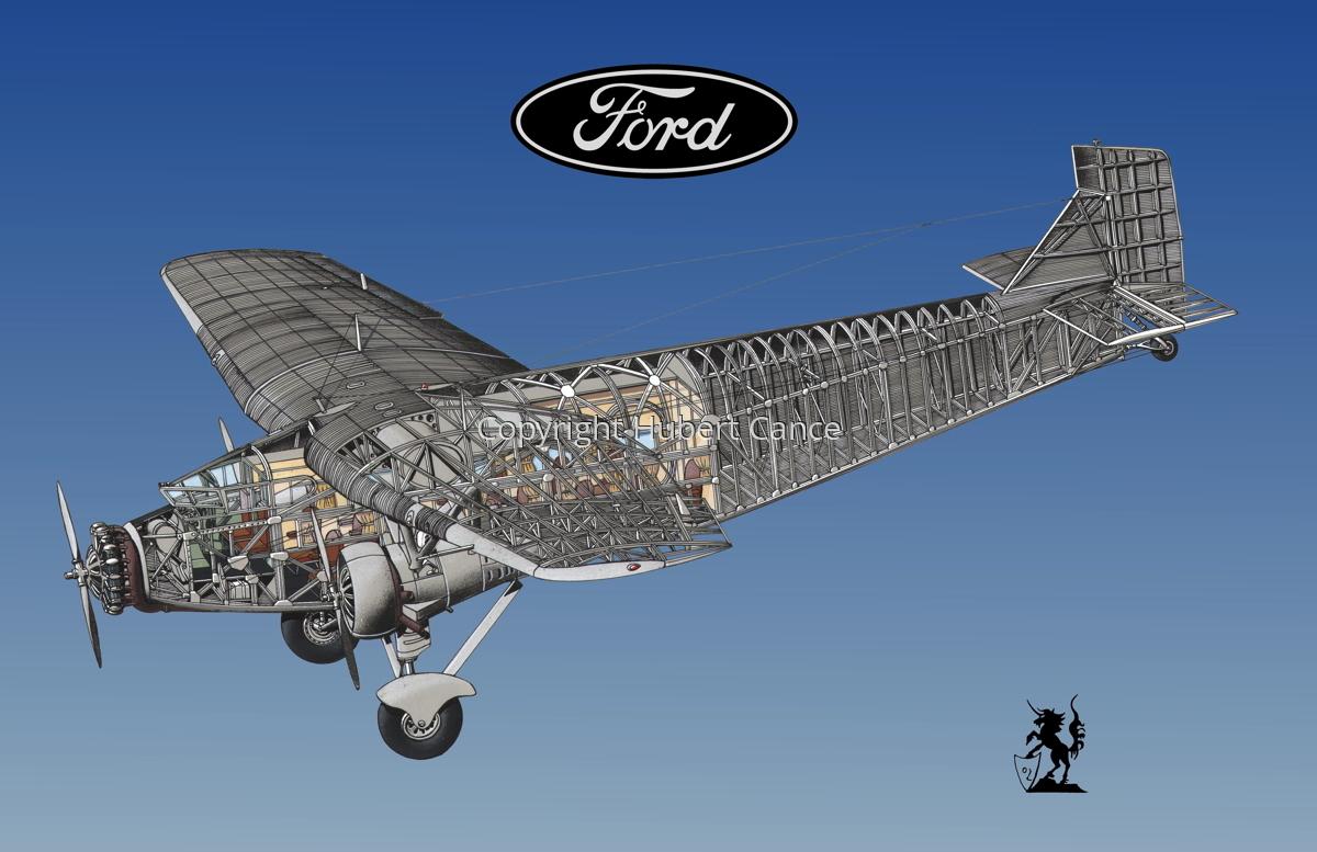 "Ford 5-AT-B ""Trimotor"" (Logo #2.3) (large view)"