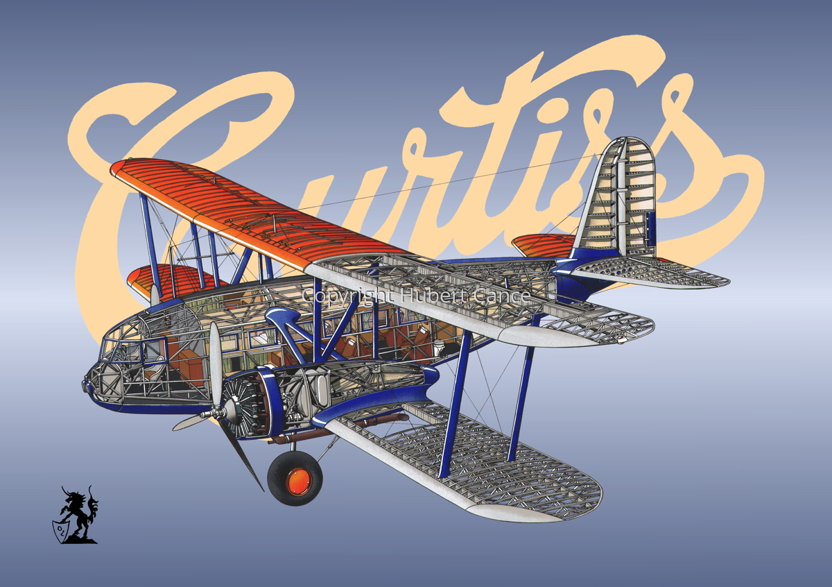 "Curtiss F32 ""Condor"" (Logo #2) (large view)"