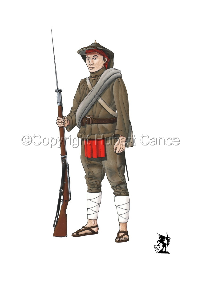 French Fusilier 1er Regiment de Tirailleurs Annamites (1914) (large view)