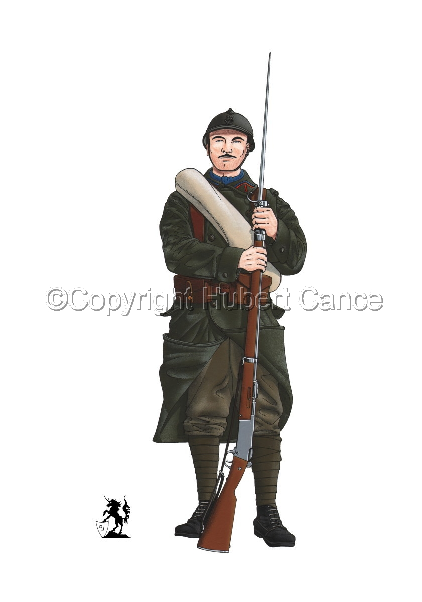 French Colonial Infantry, 1er RMZT (1917) (large view)