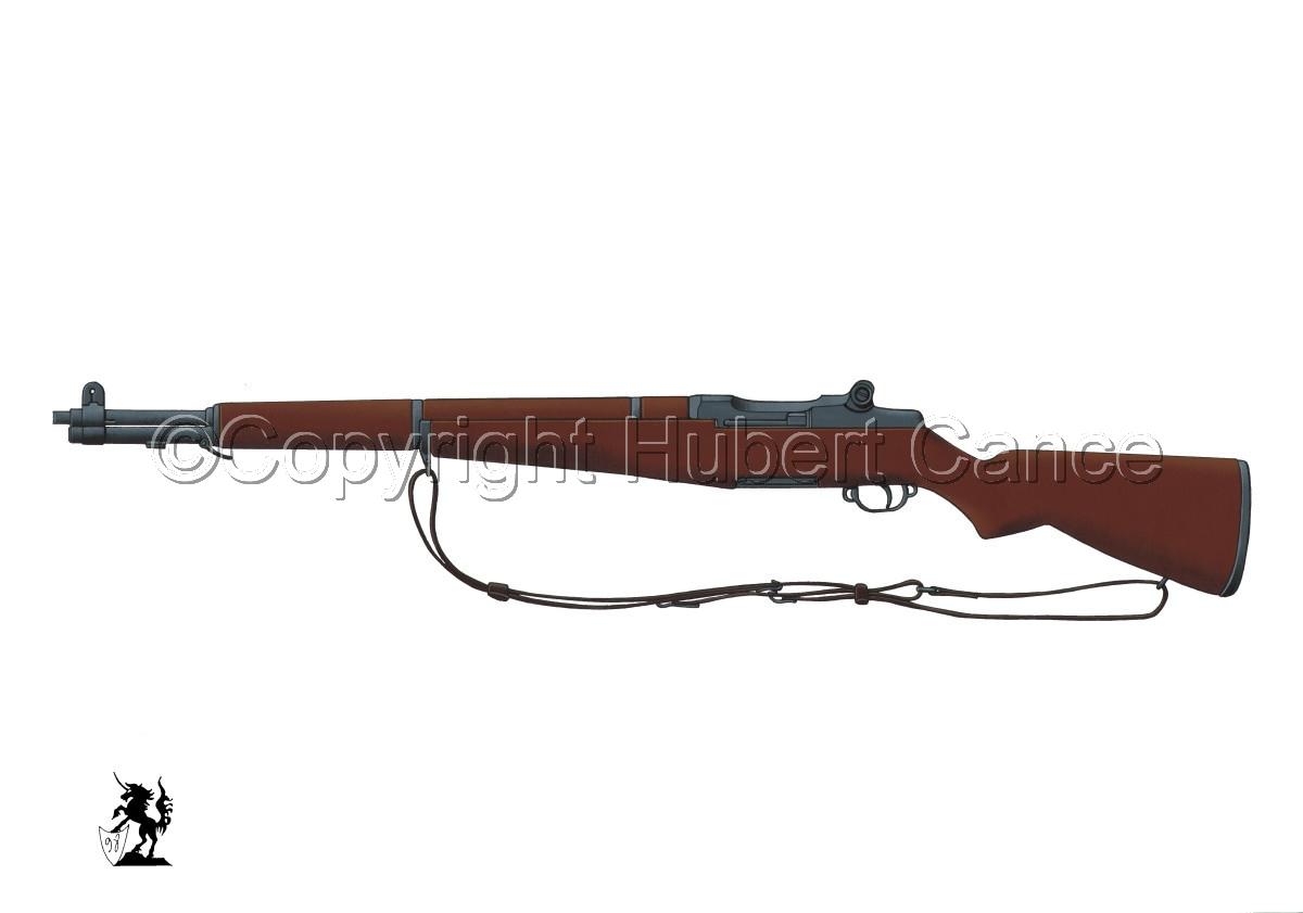 Garand M1 Riffle #1 (large view)