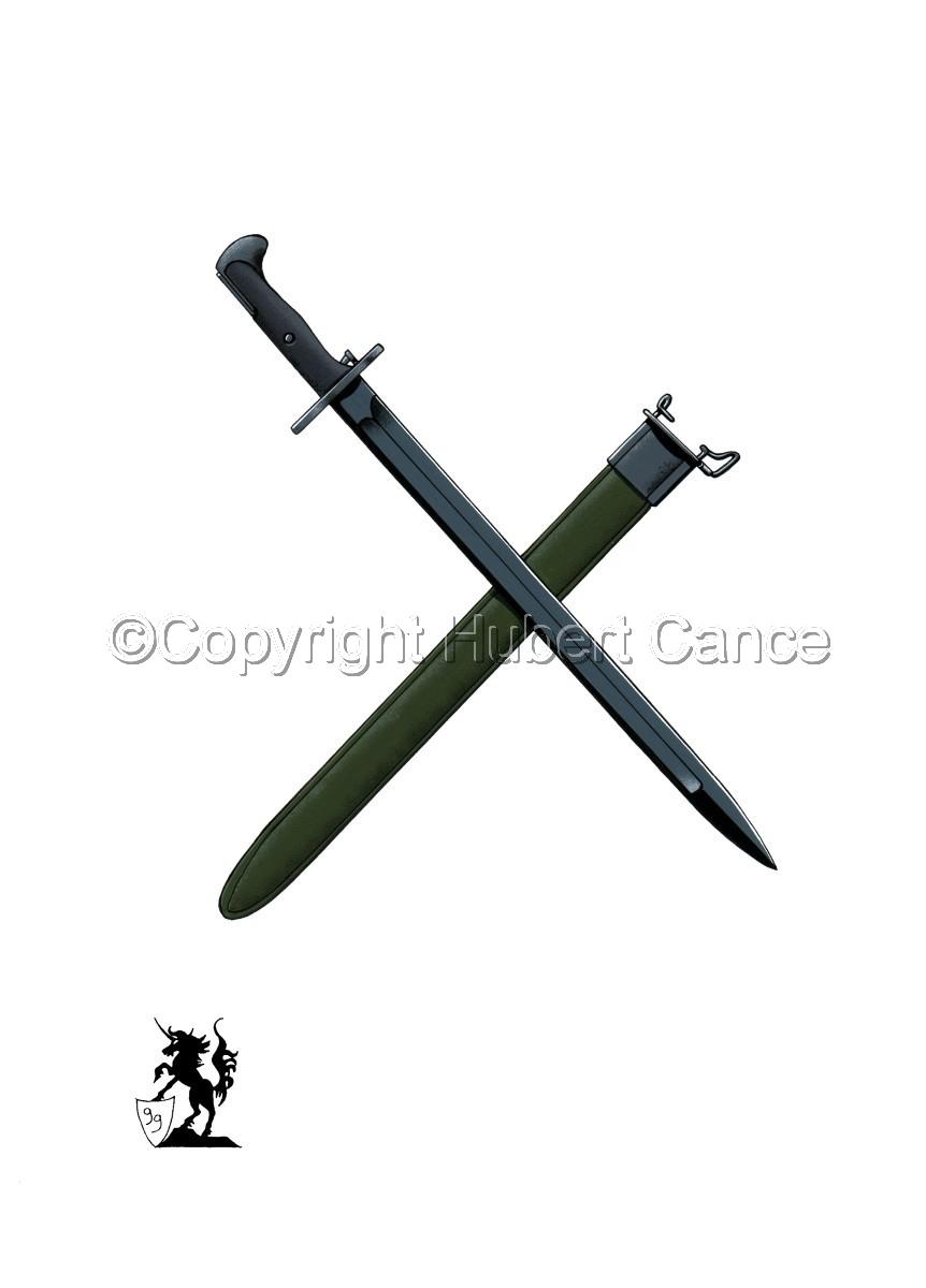M.1942 Bayonet #1 (large view)