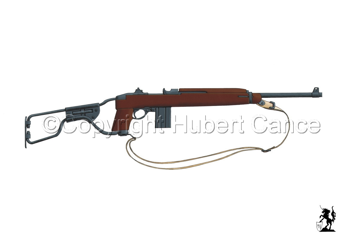 US M1A1 Paratroop Carbine #1 (large view)