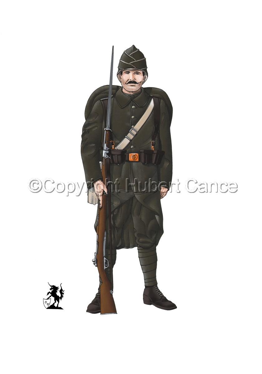 Turkish Infantryman (1916) (large view)