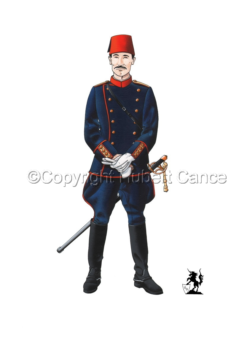 Officer, Turkish Infantry (1914) (large view)