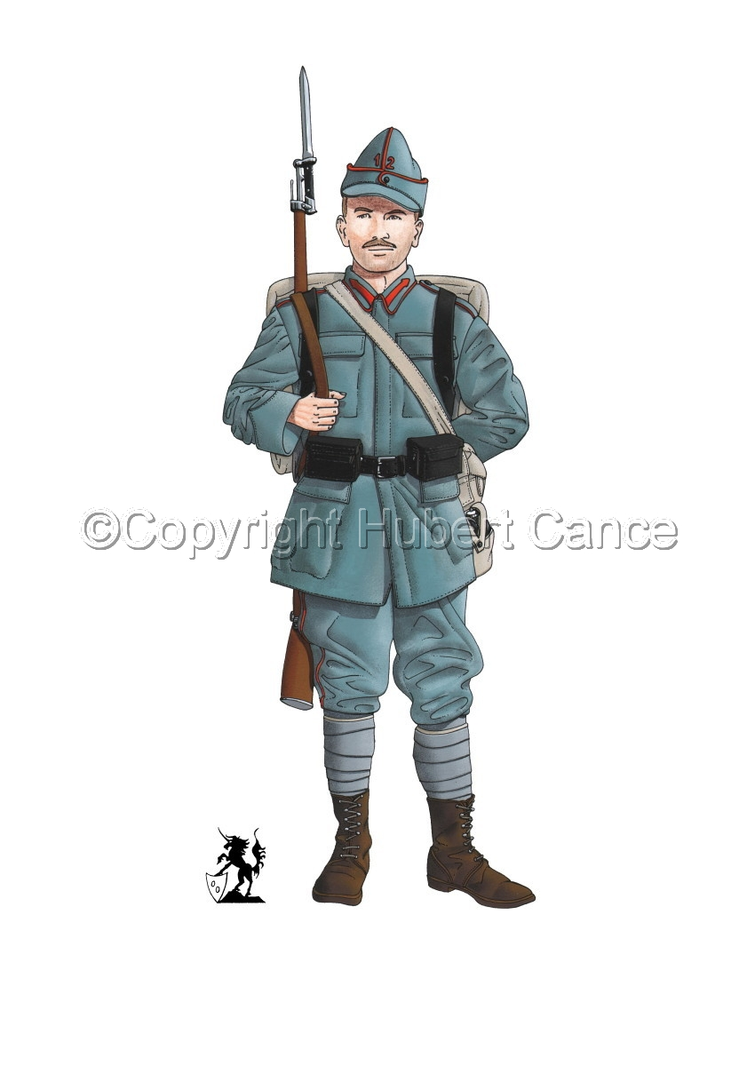 12th Infantry Regiment, Romanian Army (1916) (large view)