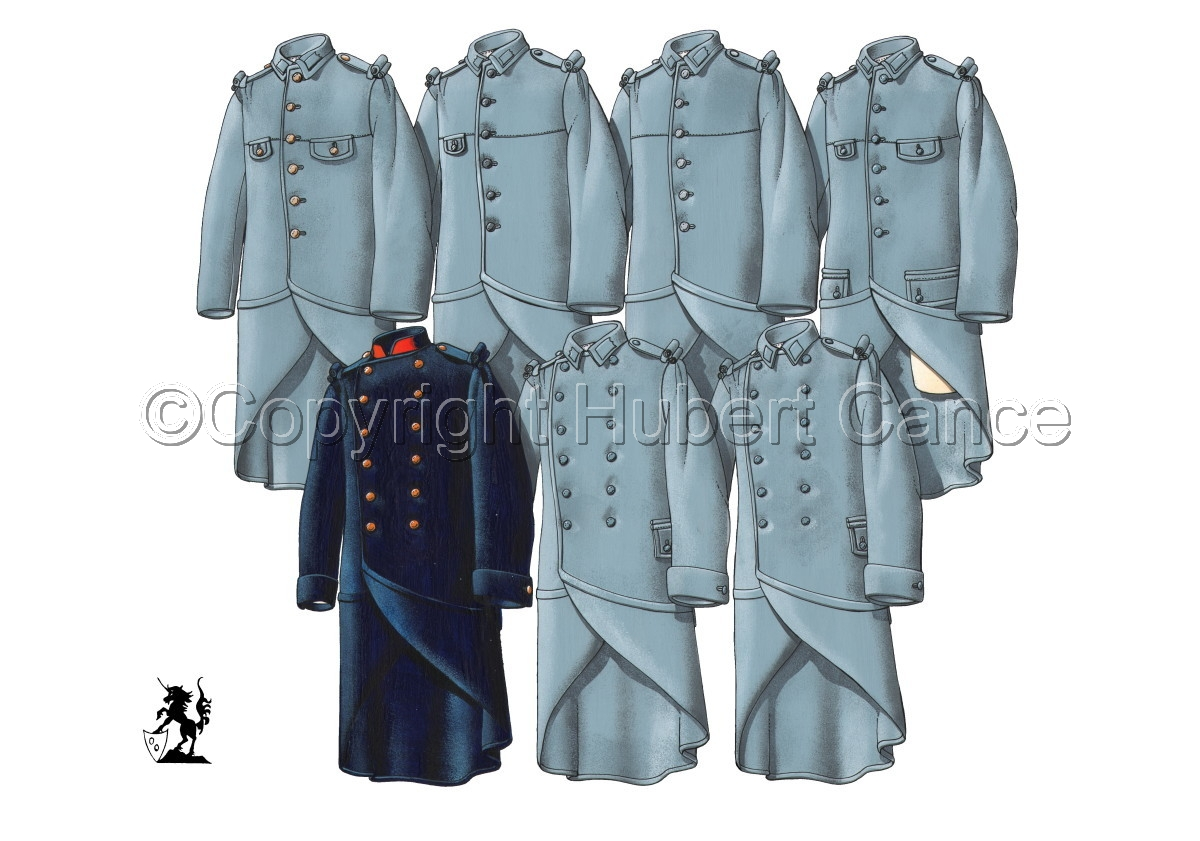 French WW1 Uniforms #2 (large view)