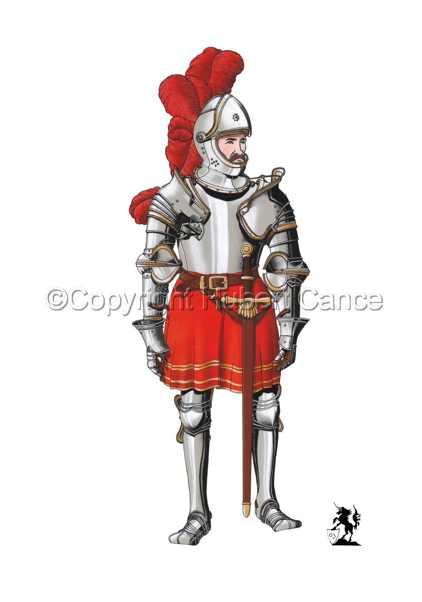 Pierre III Terrail, Knight of Bayard (1524) #2 (large view)